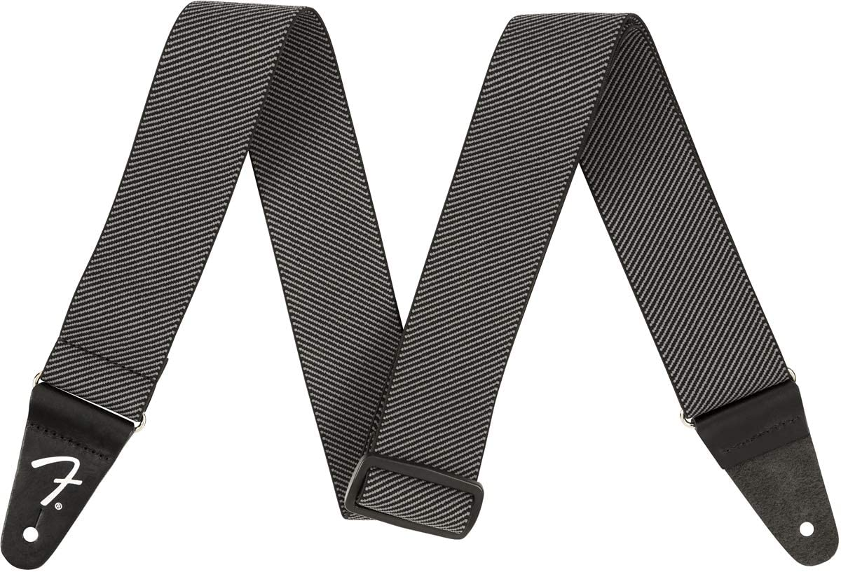 Fender® WeighLess - Correa de tweed, color gris