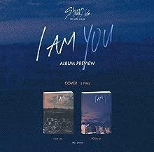 Stray Kids - I am You [I am + You ver.] (3rd Mini Album) 2 CDs+Photobooks+3 QR Photocards+1 Group Folded Poster+Postcard+Sticker+2 Extra Photocards