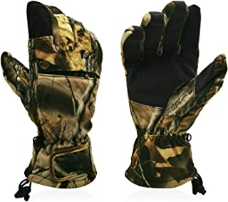 Intra-FIT Hunting Gloves Full Finger Gloves Pro Anti-Slip Camo Realtree Glove Archery Accessories Hunting Outdoors