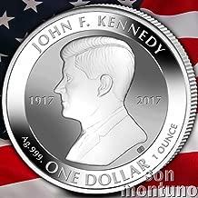 john f kennedy silver coin