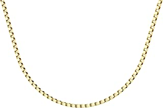 Gold Filled Box Chain 0.8mm, 17.7