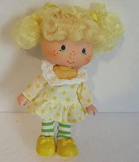 Strawberry Shortcake 1979 Lemon Meringue Vintage Doll 5 Inch Tall Friend
