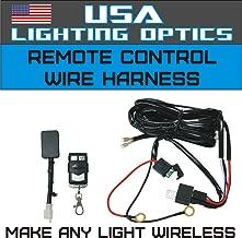 Wireless Remote Control Universal Wiring Harness Off Road ATV/UTV Jeep Trucks LED Light Bar - 40 Amp Relay ON/OFF Switch