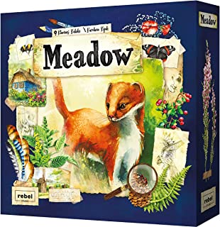 Meadow Board Game | Strategy Game | Adventure Game | Nature Game | Fun Family Board Game for Adults and Kids | Ages 10 and...