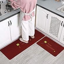 ESUPPORT Large 18 x 27 Entrance Doormats Blending Non Slip Heavy Duty Inside Entryway Kitchen Floor Rug, Catches Dirt Dust...