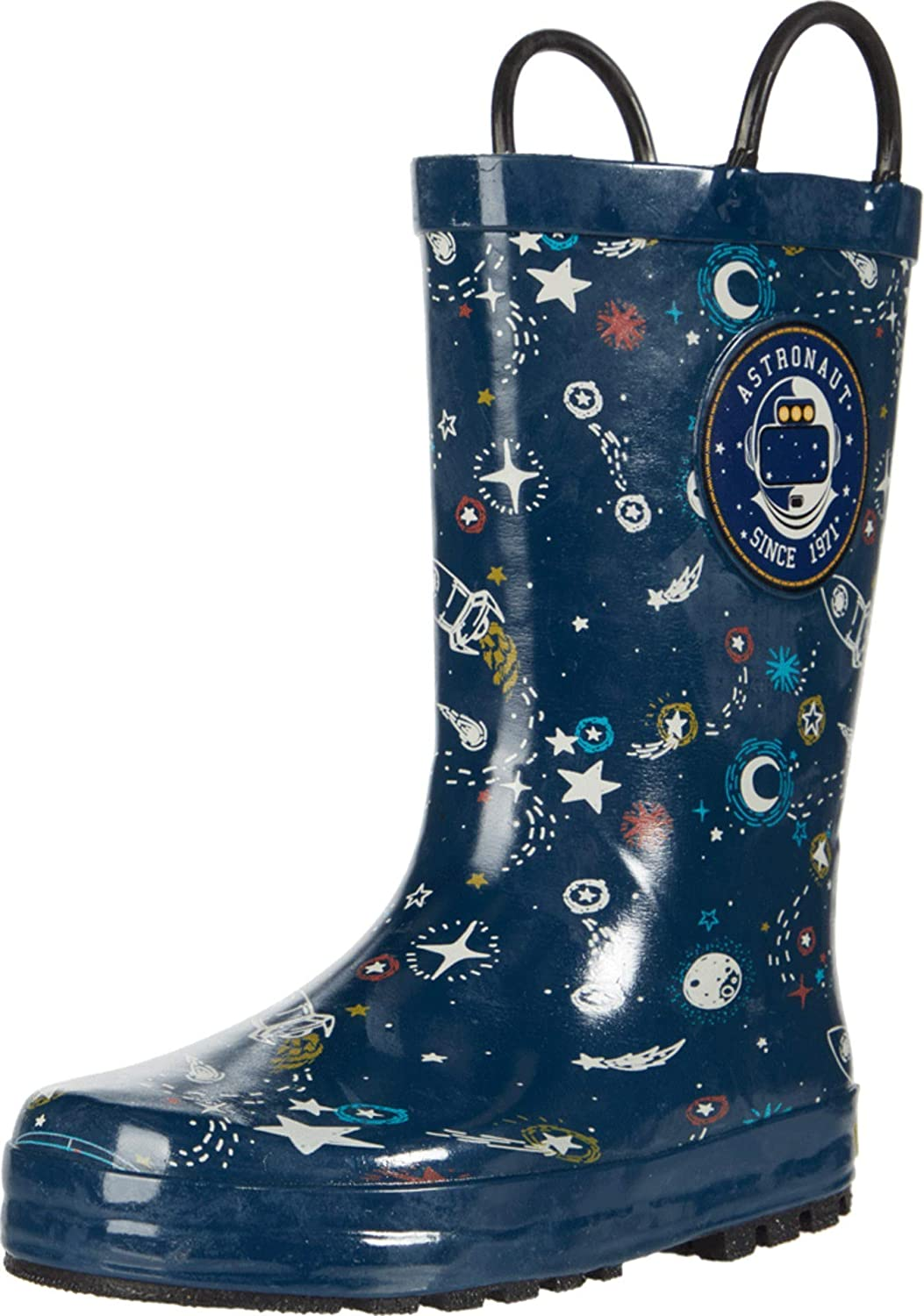 Ranking TOP9 Western Chief Unisex-Child Waterproof Easy-on Boot Rain Selling and selling Printed