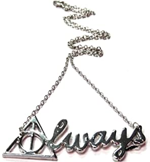 Silver Harry Potter 'Always' Necklace - Harry Potter Necklace/Always Necklace/Severus Snape Necklace/Harry Potter Jewelry