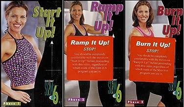 Debbie Siebers Slim in 6 (Weeks) Program: Start It Up! / Ramp It Up! / Burn It Up! (Phase 1, 2 and 3) [3 VHS Videos]