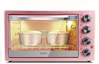 Mini-four électrique - 42L Four de cuisson à grande capacité d'or de rose, 55x46.5x32.9cm Four grille-pain (Couleur: Rose ...
