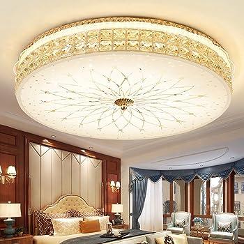 LED Chrom Decken Lampe Kristalle Beleuchtung Design Leuchte Wohn Schlaf Zimmer