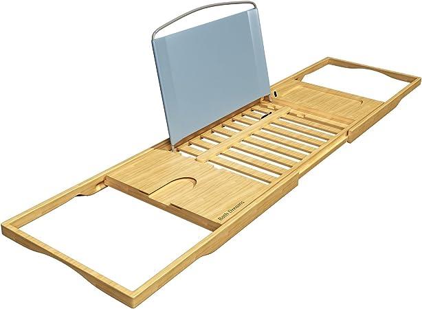 Bath Dreams Bamboo Bathtub Caddy Tray