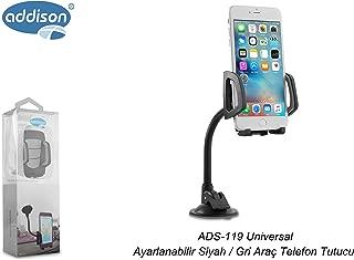 Addison ADS-119 Siyah/Gri Araç Telefon Tutucu