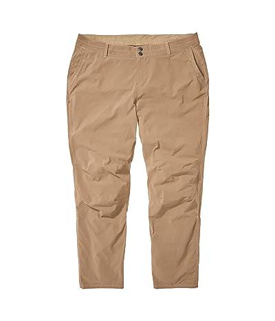 Marmot Plus Size Kodachrome Pants (Desert Khaki) Women