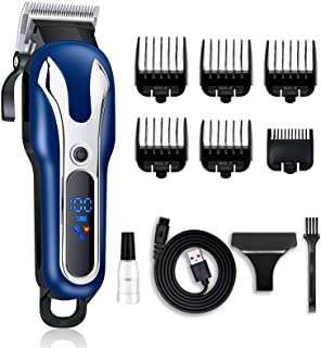 Hair Clippers for Men Professional - LONOVE Cordless Hair Trimmer Men's Hair Clipper For Hair...