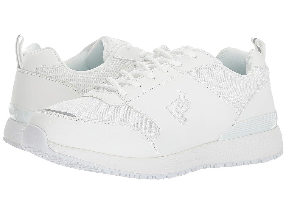 Propet Simpson Medicare/HCPCS Code = A5500 Diabetic Shoe (White) Men