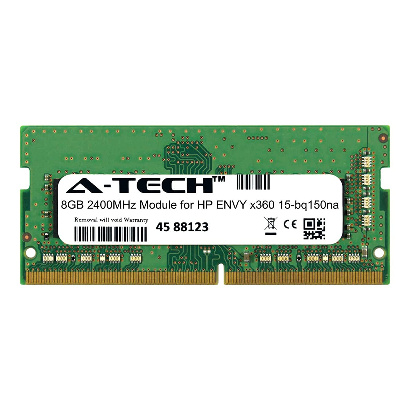 A-Tech 8GB Module for HP Envy x360 15-bq150na Laptop & Notebook Compatible DDR4 2400Mhz Memory Ram (ATMS274541A25827X1)