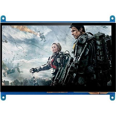 Longruner 7インチ Raspberry Pi用ディスプレイ LCD TFTモニタ 解像度1024*600 タッチスクリーン HDMI入力 Raspberry Pi 4 3 2 Model B B+ A A+ 用ディスプレイ ラズベリーパイ LSC7B (7インチ)