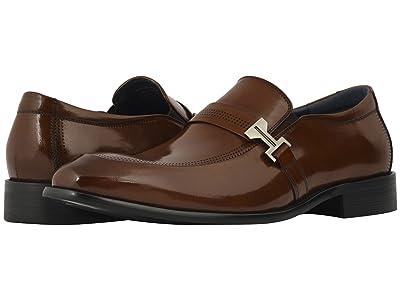 Stacy Adams Jonas Moc Toe Slip On Loafer (Cognac) Men