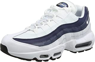 Air Max 95 Essential Mens White/Navy Sneakers