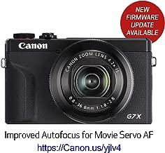 Canon PowerShot Digital Camera [G7 X Mark III] with Wi-Fi & NFC, LCD Screen and 4K Video - Black