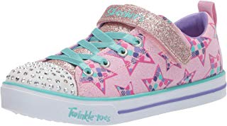 Skechers Kids' Sparkle Lite-Party Starz Sneaker