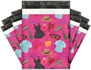 10x13 (100) Fashion Boutique Designer Poly Mailers Shipping Envelopes Premium Printed Bags