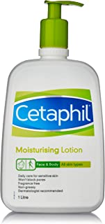 Cetaphil Moisturising Lotion for All Skin Types, 1L