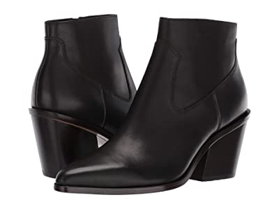 rag & bone Razor Bootie (Black) Women