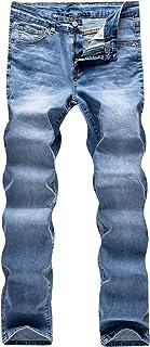 Sponsored Ad - WULFUL Men's Skinny Slim Fit Stretch Comfy Fashion Denim Jeans Pants