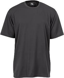 Badger Sportswear Men`s B-Dry Tee, Graphite, X-Large