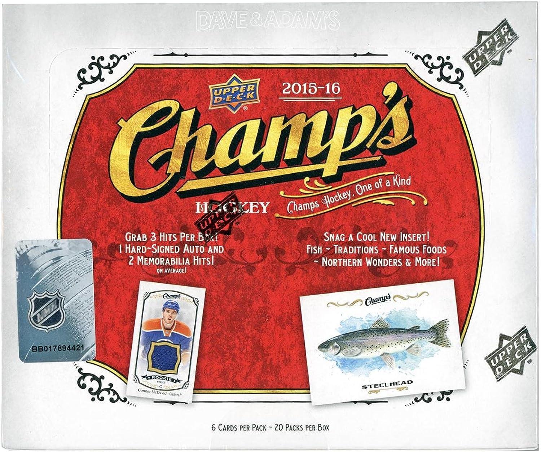 Upper Deck 2015-16 NHL Champs