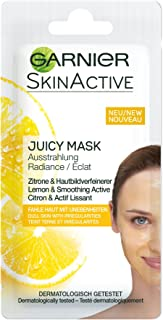 Garnier Skinactive Juicy Mask, Rescue Gezichtsmasker, 1 Stuk