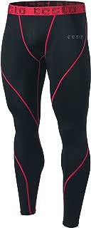 Tesla Men's Compression Pants Baselayer Cool Dry Sports Tights Leggings