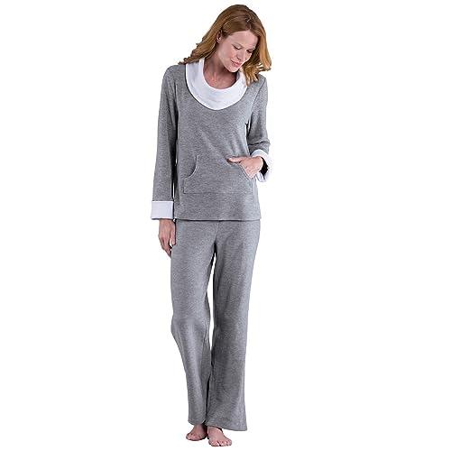 PajamaGram Super Soft Pajamas Women - Fleece 96aafcd1e
