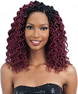 CURLY FAUX LOC SMALL (30) - FreeTress Synthetic Crochet Braid