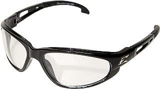 Edge Eyewear SW111AR Dakura Safety Glasses, Black with Anti-Reflective Lens