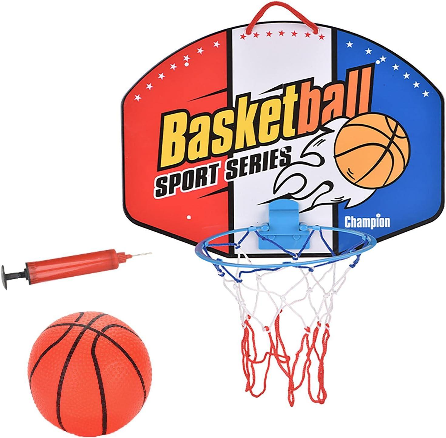 Indoor Mini Basketball Hoop Set - Wall Mounted Basketball Hoop w