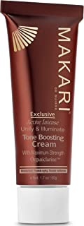 Makari Exclusive Toning Toning Toning Face CREAM 1.7oz - لوسیون با ارگانیکلارین - درمان پیشرفته تقویت کننده لکه های تیره ، جوش های آکنه ، لکه های آفتاب ، کک و مک