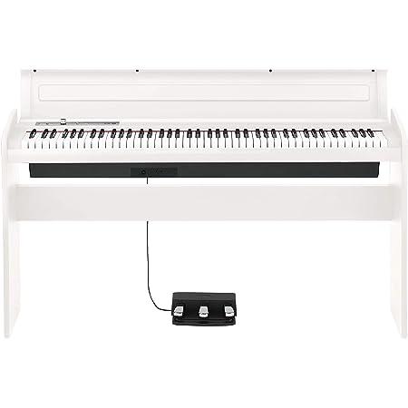 KORG コルグ 電子ピアノ LP180 88鍵 ホワイト 白 電子ピアノ部門最優秀賞を受賞したKORGによる人気商品 譜面立てとペダルが付属