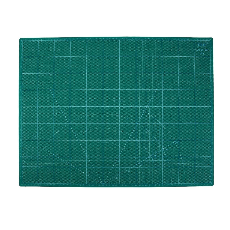 テスピアン田舎者可能性Saikogoods GKSは手作りマット彫刻モデリング補助をまな板A2に450 * 600MM縫製を切断するための1枚のPCS彫刻バッキングプレート 緑