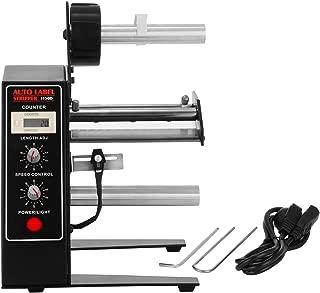 Happybuy Automatic Label Dispenser 110V Automatic Label Machine Portable Label Applicator for Various Label Sizes