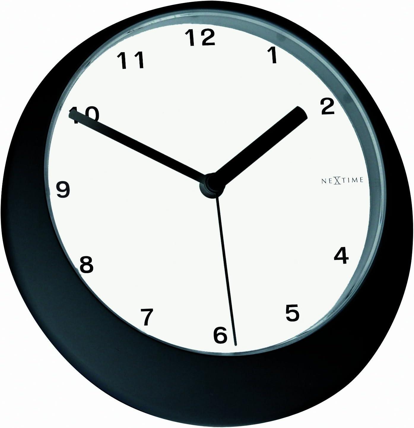 NEXTIME Sale price Superlatite Balance Alarm Multi-Colour Glass Clock