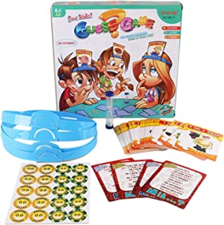 Guess What Am I Game for Kids Adults,Quick Question Card Game,Family Characters Card Game,Who I am Game Board Game Party F...