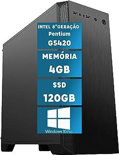 Computador Intel 8ª Geração Pentium G5420 com Windows 10 Professional 4GB SSD 120GB Skill MSW