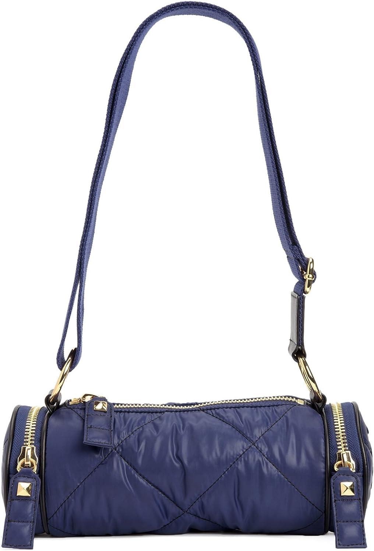 Juicy Couture Hollywood Hideaway Nylon Barrel Crossbody, Regal bluee