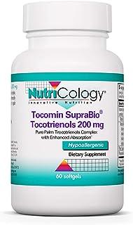 Nutricology Tocomin Suprabio Tocotrienols Soft Gels, 60 Count