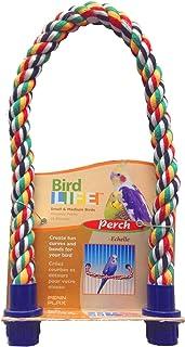"Penn-Plax (PEN-005) Rope Perch - Small Bird - 21"" x 5/8"" Diameter"