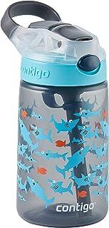 Contigo 50919 Gizmo Flip Autospout Kids Water Bottle, Charcoal