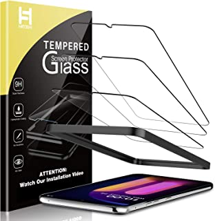 HATOSHI 3 Pack Screen Protector Compatible with LG V60 ThinQ 5G Tempered Glass, Not for The Dual Screen, Installation Alig...