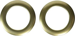 Dritz NR-723 Curtain Grommets 8 Pack Antique Gold 1-9/16in, 1-9/16-Inch
